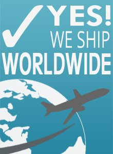 We Ship Anywhere in the World!