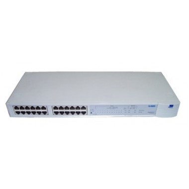 3Com 3C16406 SuperStack II PS Hub 40 TP 24-Port External Stackable Hub