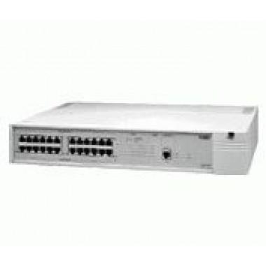 24-Port Switch, 10Base-T RJ45 1-Port Fast Ethernet 100Base-TX