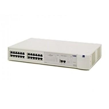 SuperStack II Switch 1100, 24-Port 10Base-T RJ45, 2-Port 10/100Base-TX RJ45