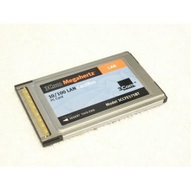 3Com 3CCFE575BT MEGAHERTZ 10/100 Ethernet CardBus PCMCIA NIC