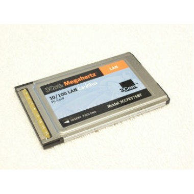 MEGAHERTZ 10/100 Ethernet CardBus PCMCIA NIC