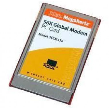 3Com 3CCM156 Megahertz 56K V.90 Fax Global Modem Card for PC / PCMCIA