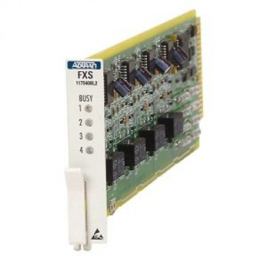 Total Access 750/850 Quad FXS Card DPO & PLAR 50-Pin AMP Voice Interface (VIC)
