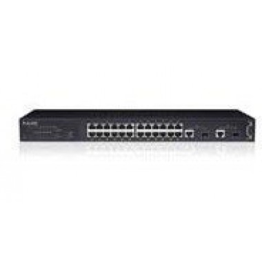 IntraCore Switch 24-Port 10/100 PoE + Dual Gigabit