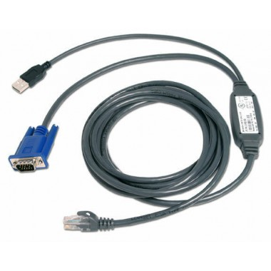 10-Foot USB CAT5 Integrated Access Cable