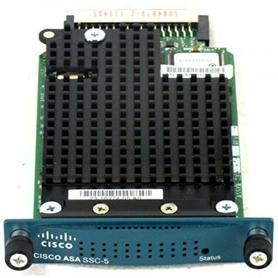 Cisco ASA-SSC-AIP-5-K9 AIP-SSC-5 Advanced Inspection and Prevention  Security Services Card 5 / Module