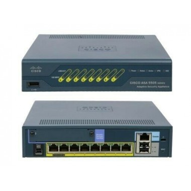 Cisco ASA5505-BUN-K9 ASA 5505 8 Port SSL 3DES/AES With Software 10IPSec VPN Peers Network Security/Firewall Appliance