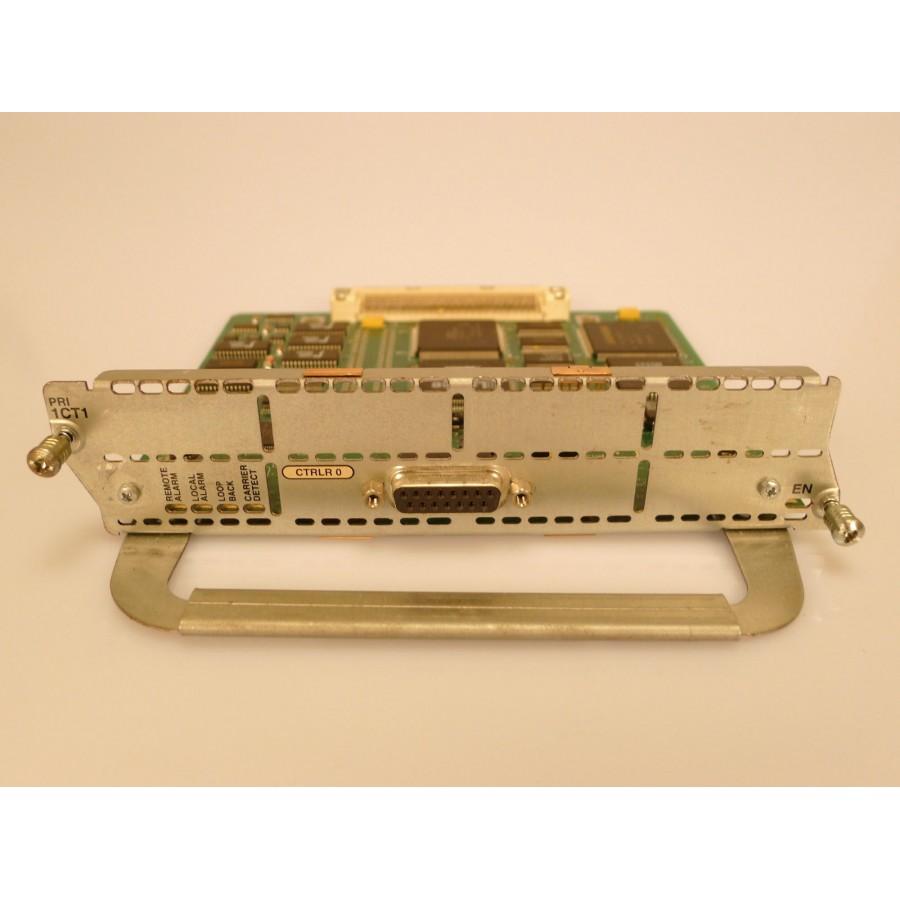 Cisco NM-1CT1 1-Port Channelized T1 / ISDN PRI Module