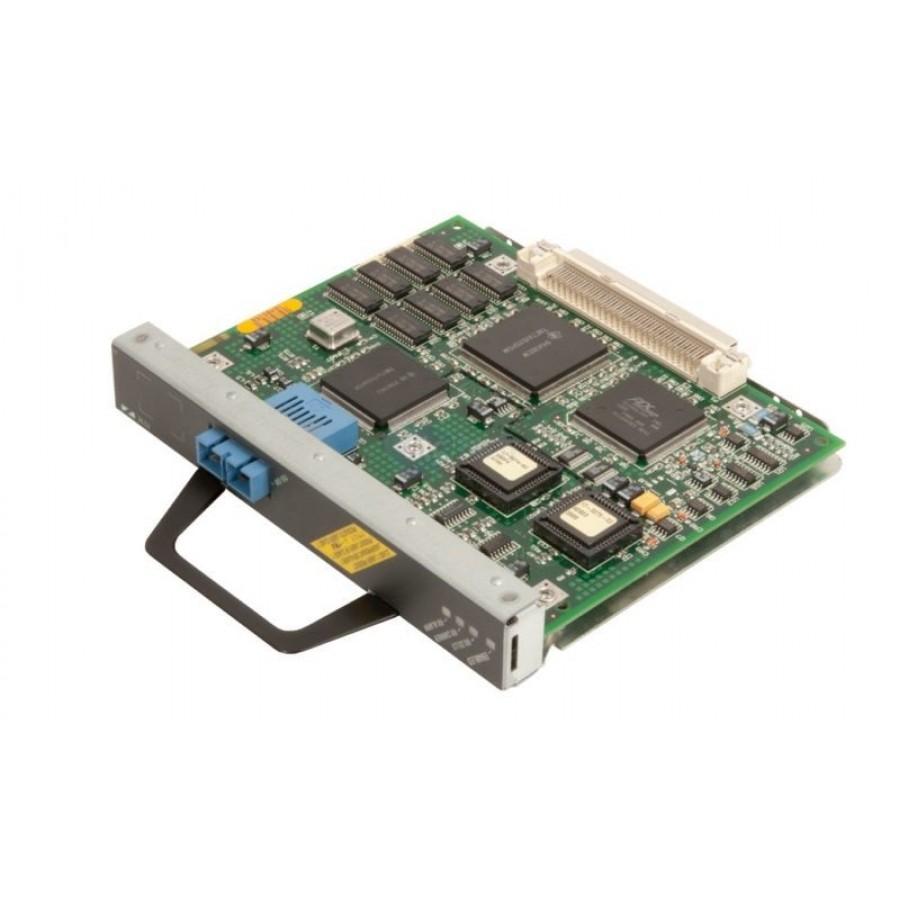 1 x OC-3c//STM-1 Cisco One-port ATM OC-3c//STM-1 Multimode Port Adapter