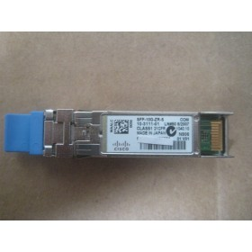 10GBASE-ZR SFP+ Transceiver Module For SMF, 1550-nm, LC duplex Connector