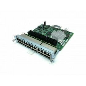 GbE POE+ Capable LAN SM-X EtherSwitch Module, Layer 2/3 Switching, 24-Ports