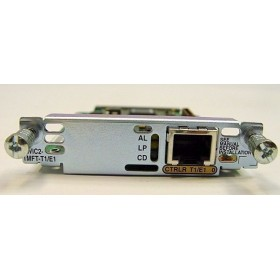 1 1-Port Multiflex Trunk Interface Card Voice/WAN