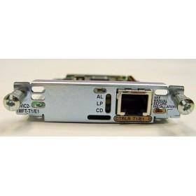 1 1-Port Multiflex Trunk Interface Card Voice/WAN