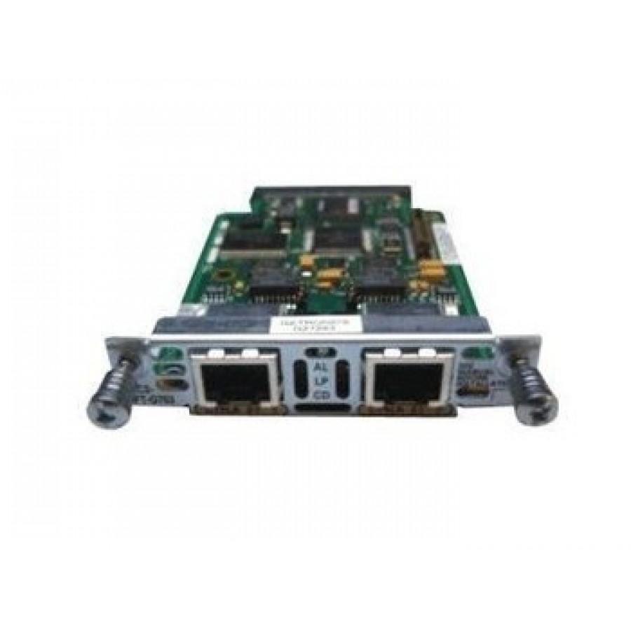 Voice//Wan Interface Card E1 Cisco VWIC2-2MFT-G703 2-Port Multiflex Trunk G.703