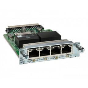 4-Port T1/E1 Voice/WAN Interface Card