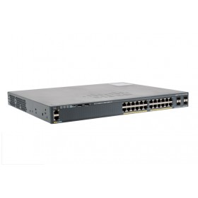 Catalyst 2960 24-Port GigE PoE 370W 4x 1G Ethernet Switch