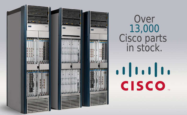 13,000 Cisco Parts in Inventory