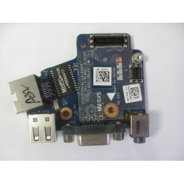 I/O Daughter Board Audio; RJ45; USB; VGA Latitude E6420