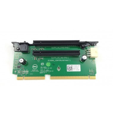 PCI Riser Card Slot 4 PCI-E 3.0x16 (CPU2); Slot 5 PCI-E 3.0x8 (C