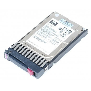 146GB Hot-Plug Dual-port SAS hard disk drive - 15, 000 RPM, 3Gb/sec transfer rate, 2.5-inch small Form factor (SFF)