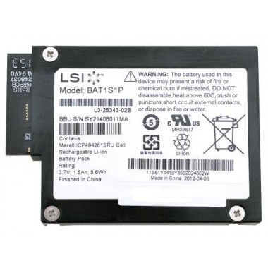 ServerRAID-MR10M SAS/SATA Controller Battery Pack