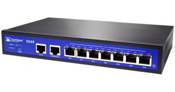 Juniper Networks SSG-5-SH SSG5 Firewall VPN with RS-232 ...