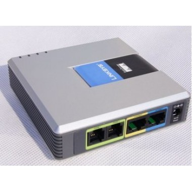 Cisco Systems - VoIP Phone Adapter with Router