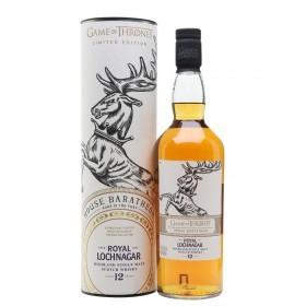 Game of Thrones Limited Edition House Baratheon Royal Lochnagar Scotch Whisky