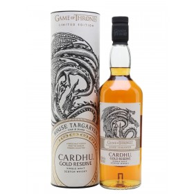 Game of Thrones Limited Edition House Targaryen Cardhu Gold Reserve Scotch Whisky