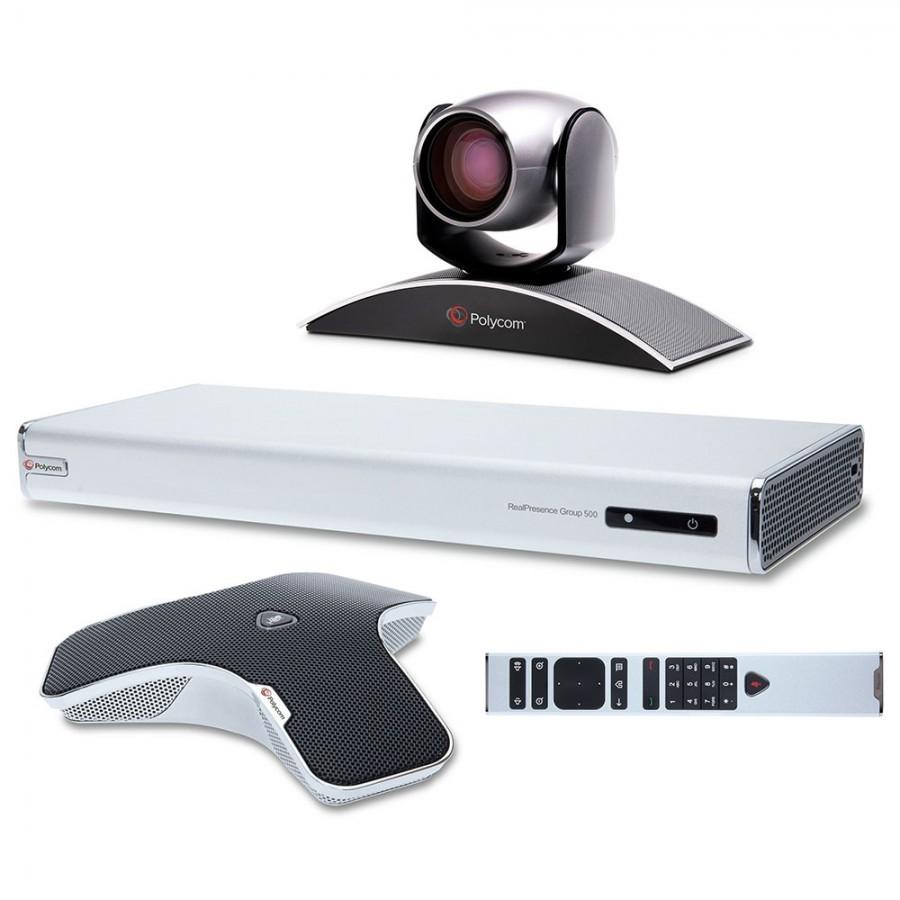 Polycom 7200-63430-001 RealPresence Group 500 720p EagleEye III Bundle