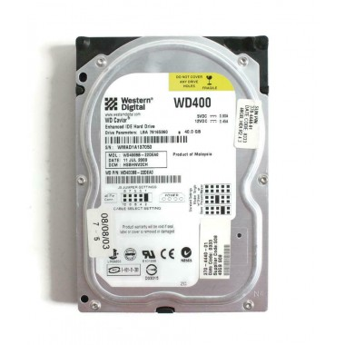 40GB 7200RPM Ultra ATA Disk Drive