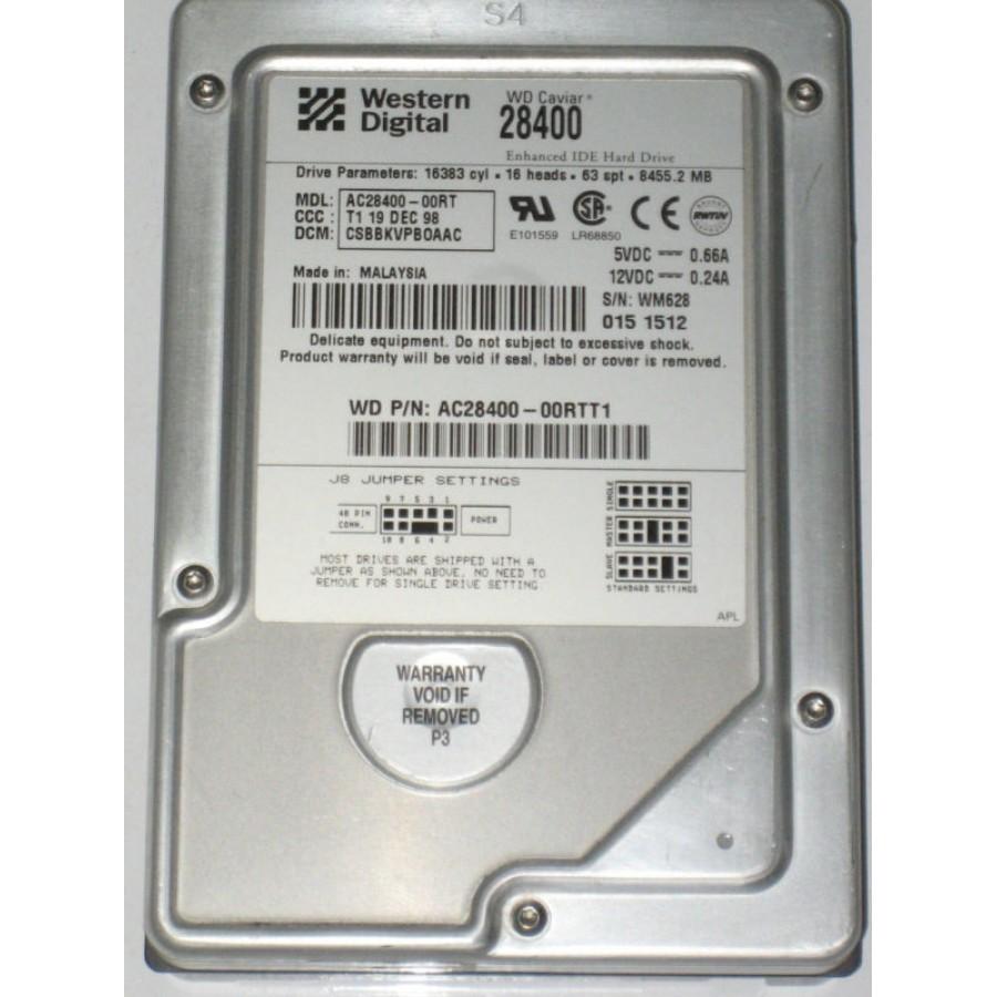 Western Digital AC28400 00RT 84 GB Internal 5400 RPM 35 Hard